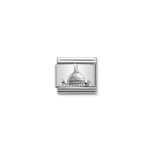 Load image into Gallery viewer, COMPOSABLE CLASSIC LINK 330105/20 ST PETER'S DOME RELIEF IN 925 SILVER