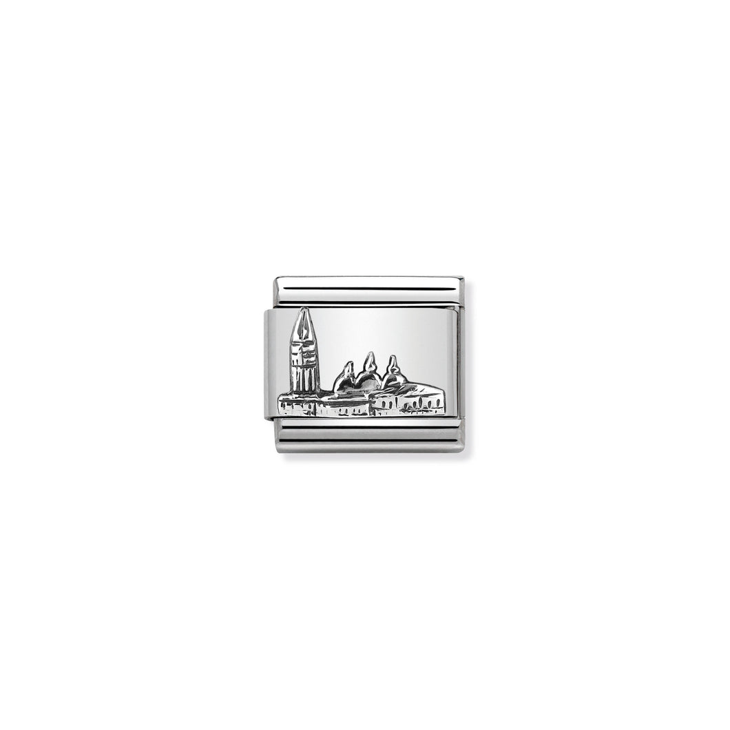 COMPOSABLE CLASSIC LINK 330105/27 ST MARK'S RELIEF IN 925 SILVER