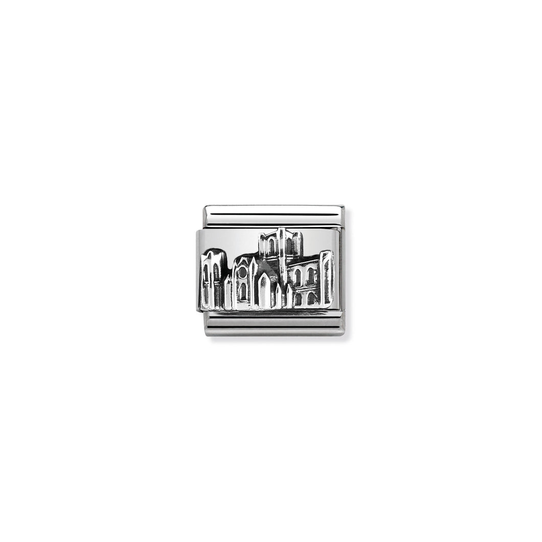 COMPOSABLE CLASSIC LINK 330105/38 YORK MINSTER RELIEF IN 925 SILVER