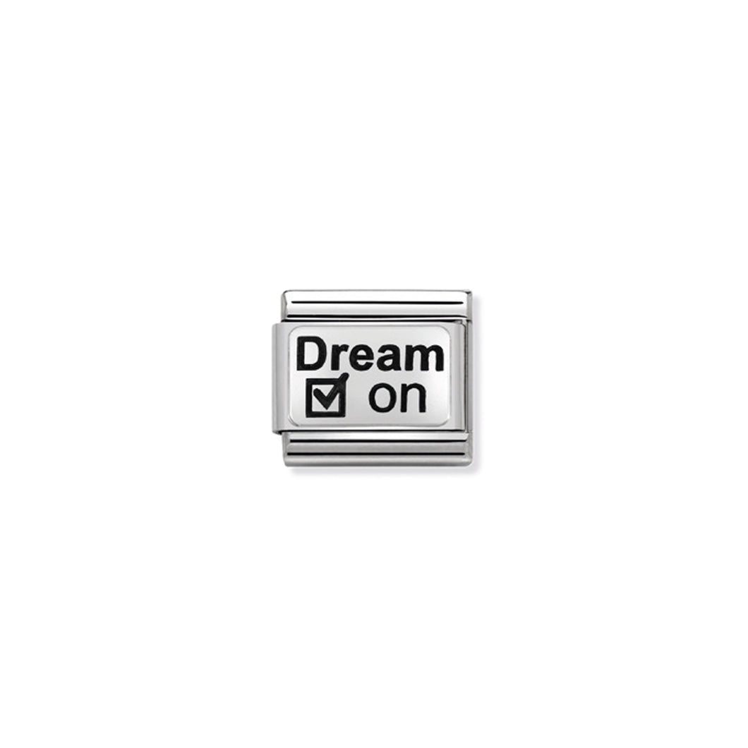 COMPOSABLE CLASSIC LINK 330109/26 DREAM ON IN 925 SILVER