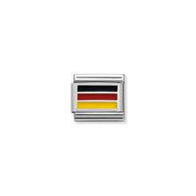 Load image into Gallery viewer, COMPOSABLE CLASSIC LINK 330207/14 GERMANY IN ENAMEL & 925 SILVER