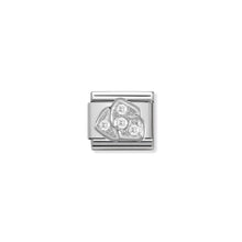 Load image into Gallery viewer, COMPOSABLE CLASSIC LINK 330304/05 ROSE WITH CZ IN 925 SILVER