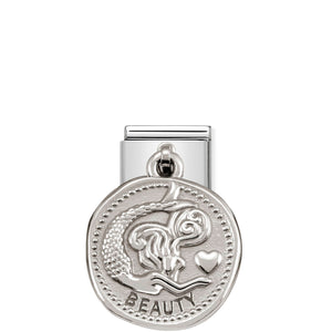 COMPOSABLE CLASSIC LINK 331804/03 BEAUTY WISHES CHARM IN 925 SILVER