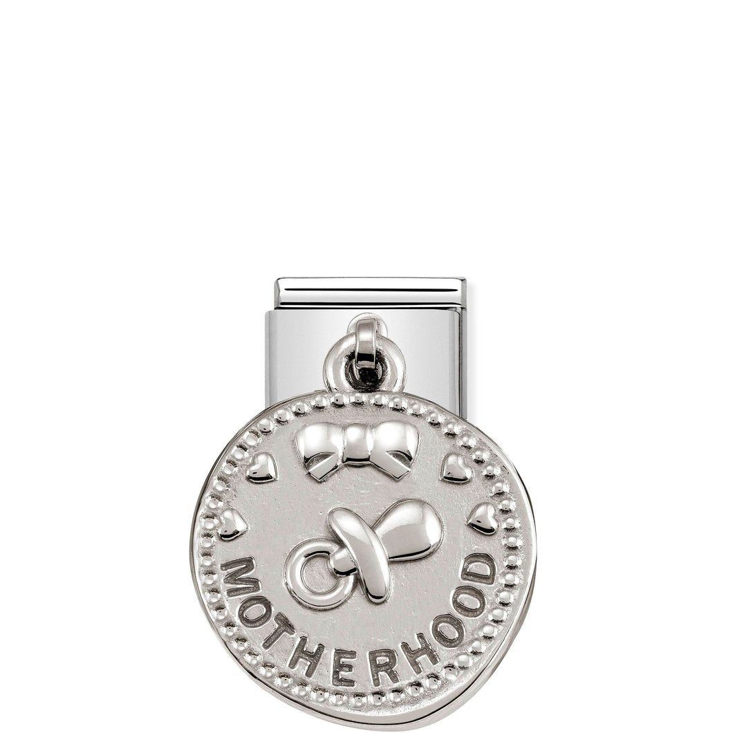 COMPOSABLE CLASSIC LINK 331804/11 MOTHERHOOD WISHES CHARM IN 925 SILVER