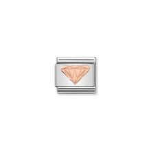 Load image into Gallery viewer, COMPOSABLE CLASSIC LINK 430104/18 BRILLIANT DIAMOND IN 9K ROSE GOLD