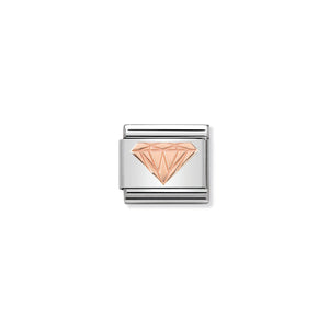 COMPOSABLE CLASSIC LINK 430104/18 BRILLIANT DIAMOND IN 9K ROSE GOLD