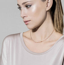 Load image into Gallery viewer, BELLA NECKLACE 146658/011 ROSE GOLD, CRYSTAL & SWAROVSKI® PEARL