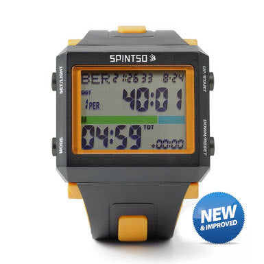 Spintso Referee Watch (Black/Orange)