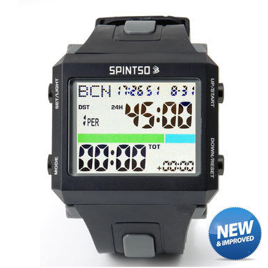 Spintso Referee Watch (Black/Gray)