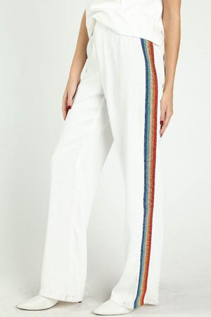 Rainbow Wide Leg Pants