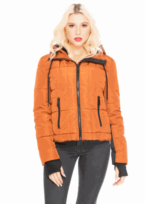 Take It By Storm Hooded Jacket