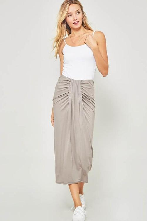 Coco Taupe Skirt