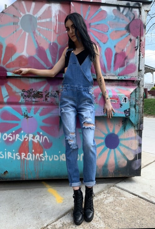 The Urban Denim Overall