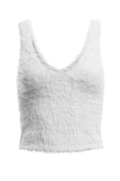 Maddie Furry Tank Top
