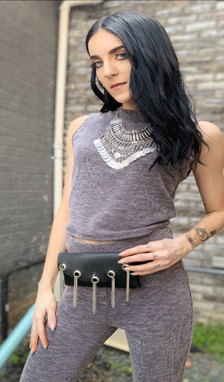 Vegan Leather Fannie Belt