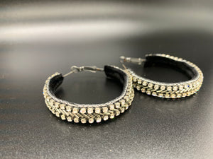 Detailed Hoop Earrings