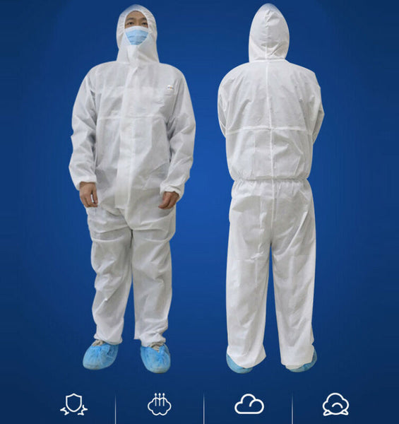 Disposable Protective Hooded Surgical Suit Coverall Medical Painting Spraying Safety Clothing Ropa Quirurgica Traje Medico PPE