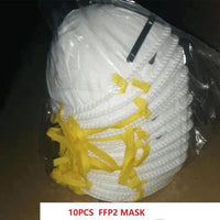 50pcs In stock!Disposable Masks Mouth Mask 3-Ply  Anti-Dust FFP3 KF94 N95 Nonwoven Elastic Earloop Salon Mouth Face Masks