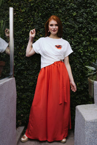 "T-shirt ""Sunset"" with Skirt ""Emotion"""