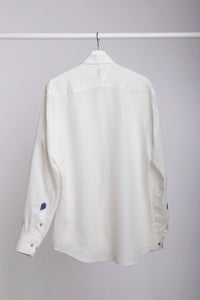 "Linen shirt ""Imperfect"""