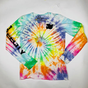 Free City Artists Wanted Tie Dye Long Sleeve Tee