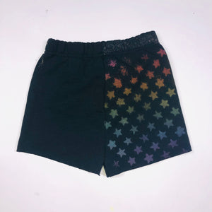 All over star rainbow shorts
