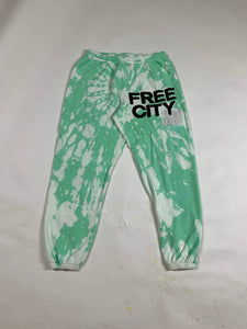 Free City Green Sweats