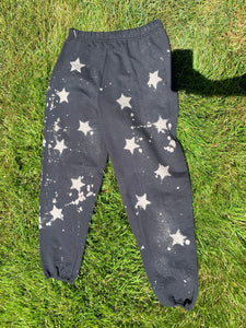 Bleached Star Sweatpants