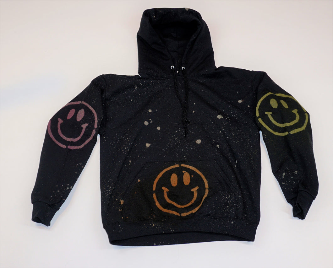Sweatshirt - Rainbow Smiley Hoodie