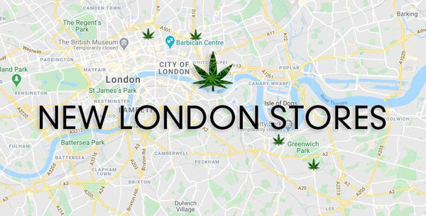 NEW STORES ACROSS LONDON | Green Machine CBD
