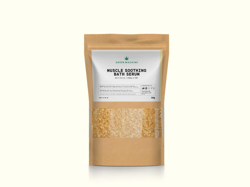 Green Machine CBD Bath Soak - Green Machine CBD