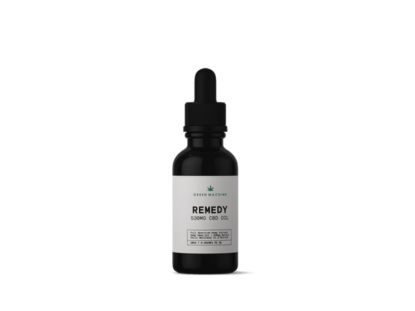 Green Machine CBD Oil 530mg - 10ml bottle - Green Machine CBD