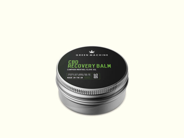 Green Machine CBD Recovery Balm 500mg - Green Machine CBD