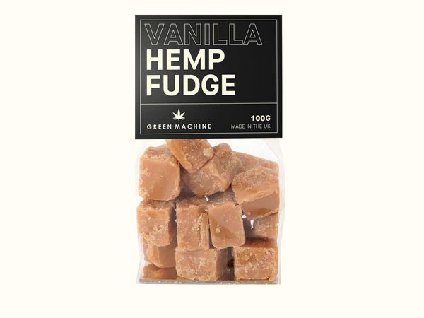 Green Machine CBD Vanilla Hemp Fudge 100mg - Green Machine CBD