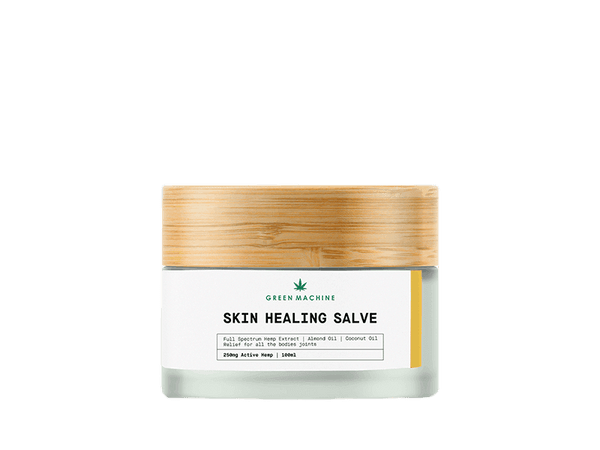 Green Machine Skin Healing Salve 250mg - Green Machine CBD