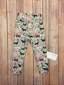 Farm baby pants, toddler pants, country girl