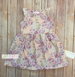 Easter girls dress, spring casual dress, baby dress