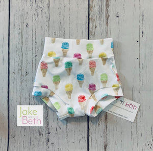 Summer baby bummies, toddler bummies
