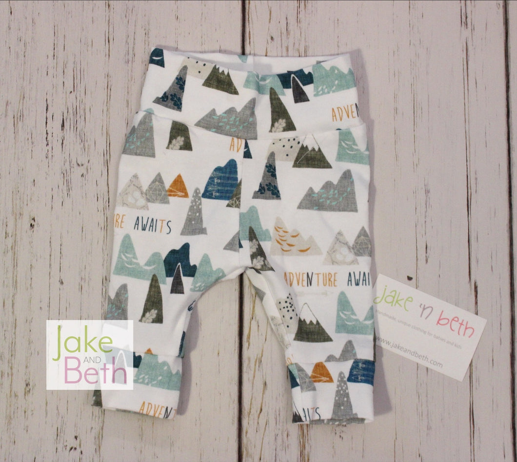 Adventure awaits baby pants, toddler pants,
