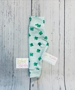 St Patrick's Day baby pants, toddler pants, shamrock