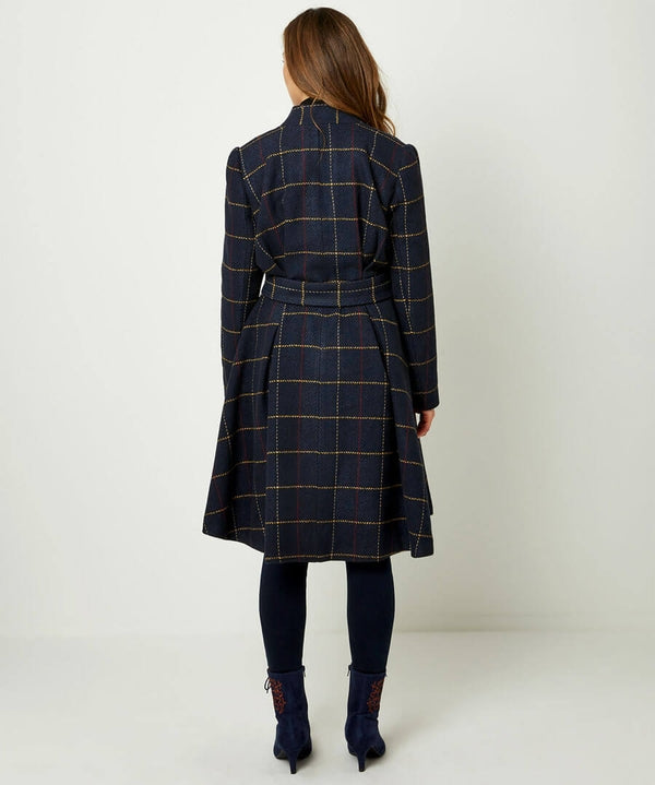 UNIQUE BELTED COAT