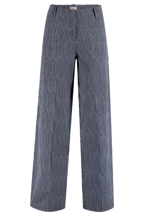 TRIANGLE STRIPE TROUSERS