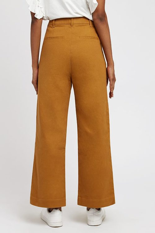 TIM TWILL CROPPED TROUSERS