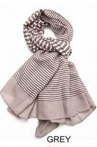 CROSS STRIPES SCARF