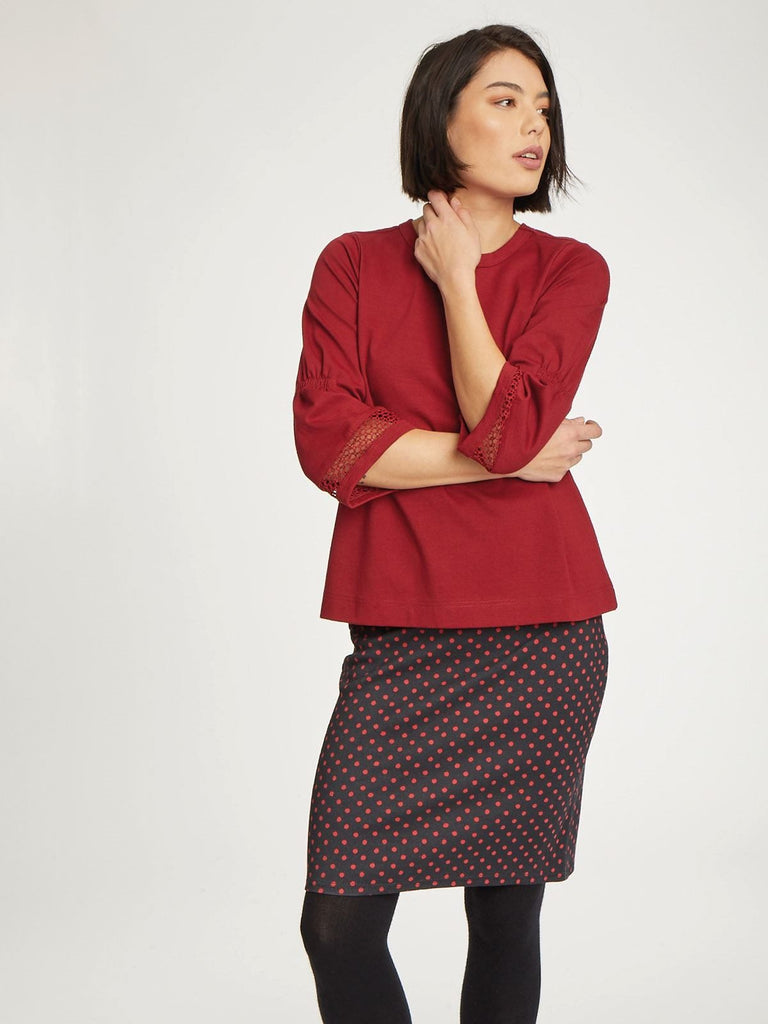 AGNER SPOT STRETCH SKIRT