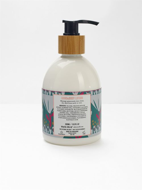 LAVENDER AND MANDARIN HAND AND BODY LOTION