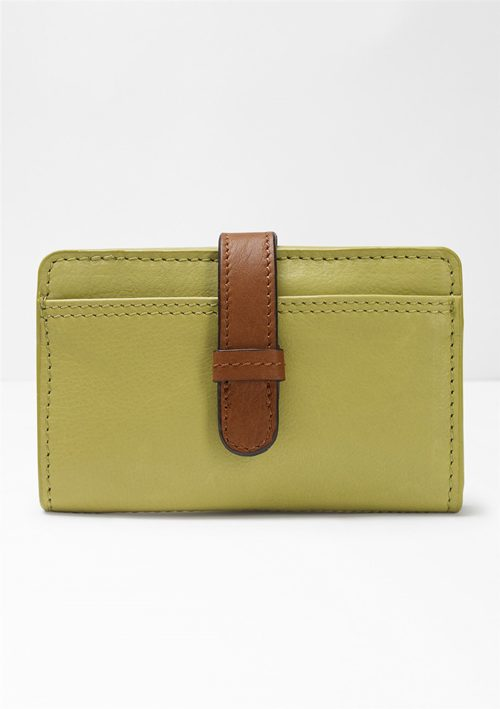 MID BONNIE LEATHER PURSE