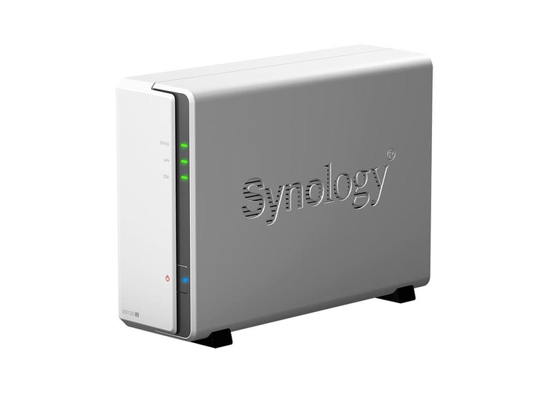 Synology DiskStation DS120j NAS Server DiskStation 1 Bay, 512MB DDR3L Memory - Weremote