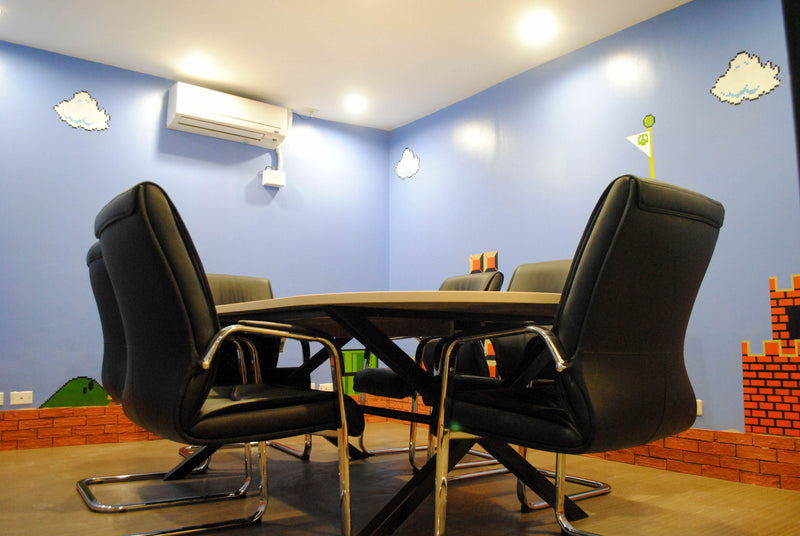 Standard Meeting Room in Ortigas for Rent Mario Brothers Theme (6pax) - weremote