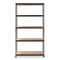 5 Layer Boltless Metal Shelf Rack 183cm (H)  x 86.5cm (w) x 35.5cm (L) - Weremote
